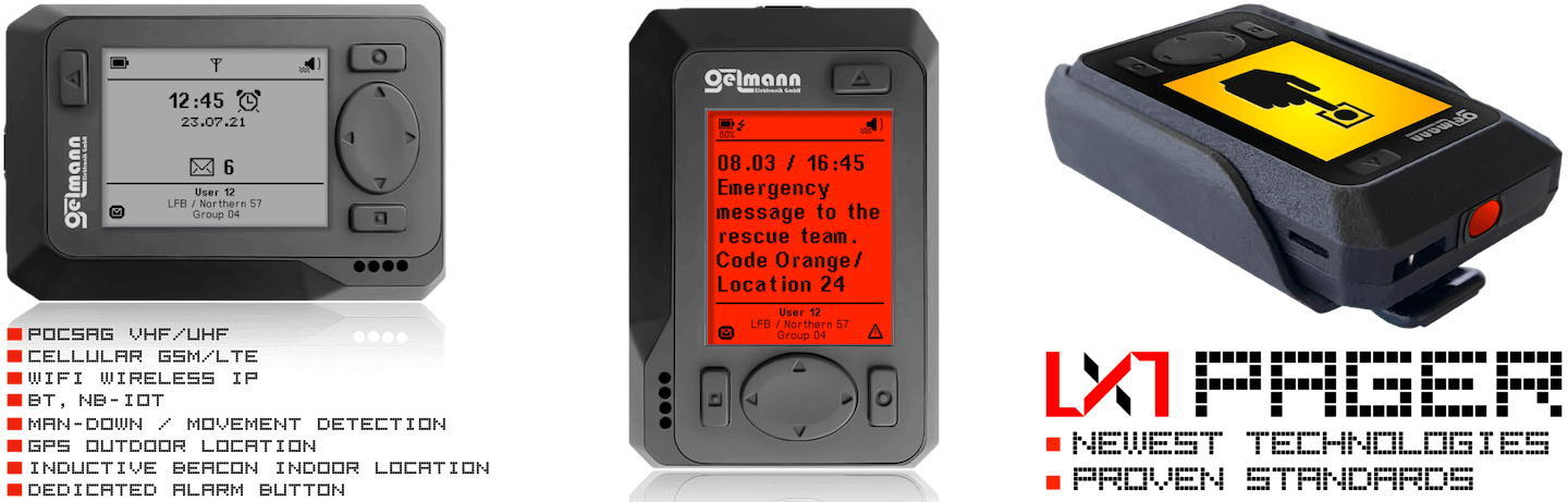 POCSAG Pagers
